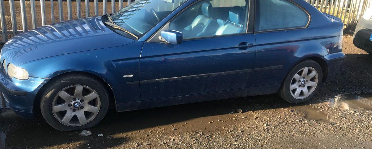 BMW 320 scrap