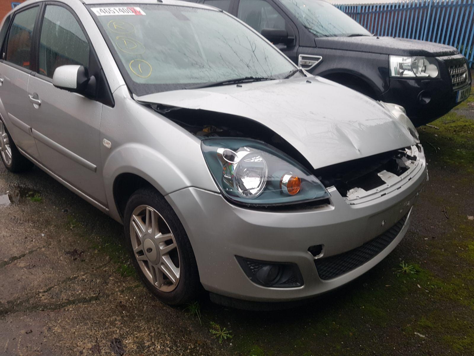 Silver Ford Scrap